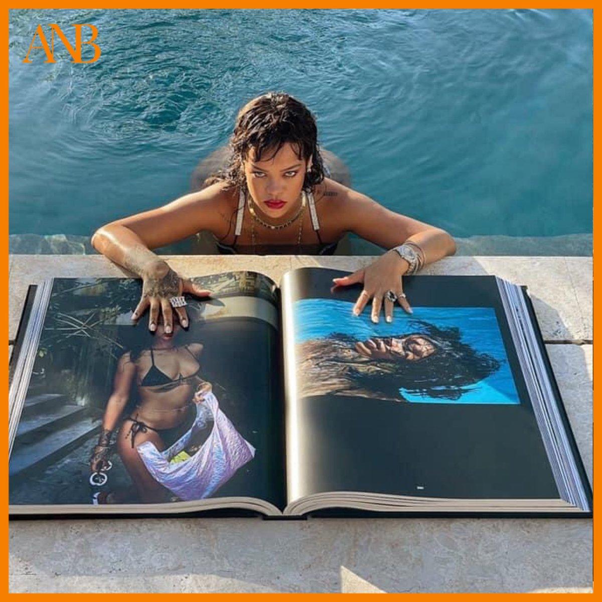 """[NEWS] @rihanna publie son livre autobiographique avec 1050 photographies inédites.  """"The Rihanna Book"""" est en édition limitée, seulement 500 exemplaires sont édités et vendus à presque 1.000.000 Fcfa l'unité 🤩 - #anousbamako #anbmagazine #rihanna #therihannabook"""