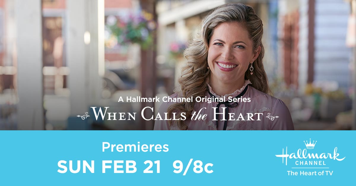 The world is full of many beautiful things, but there's no place like home for Rosemary @HuttonPascale. Don't miss her return to Hope Valley Sunday February 21 at 9/8c in the all new season premiere of #WhenCallsTheHeart! Tweet along while you watch using #Hearties.