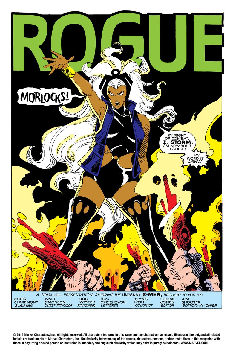 I always wanted this storyline to be developed!  #MCU #XMENVOTE #ororo