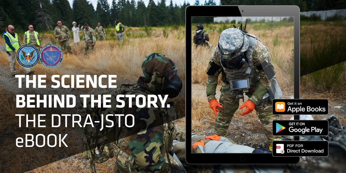 Download the DTRA-JSTO eBook to get the #ScienceBehindtheStory 🔬 Learn about our mission, strategy, capabilities, & more! 📲 bit.ly/eBook-LP-T @doddtra #InherentlyDisruptive #DTRAJSTOeBook #DTRA #JSTO #CBDP #KnowYourMil #CBRN #biodefense #chembio