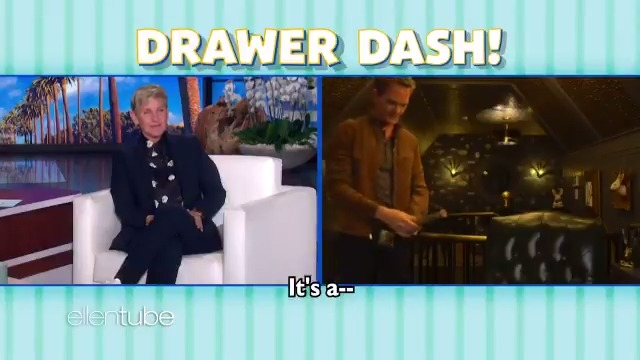 I'm so glad that was a magic trick... @ActuallyNPH #DrawerDash