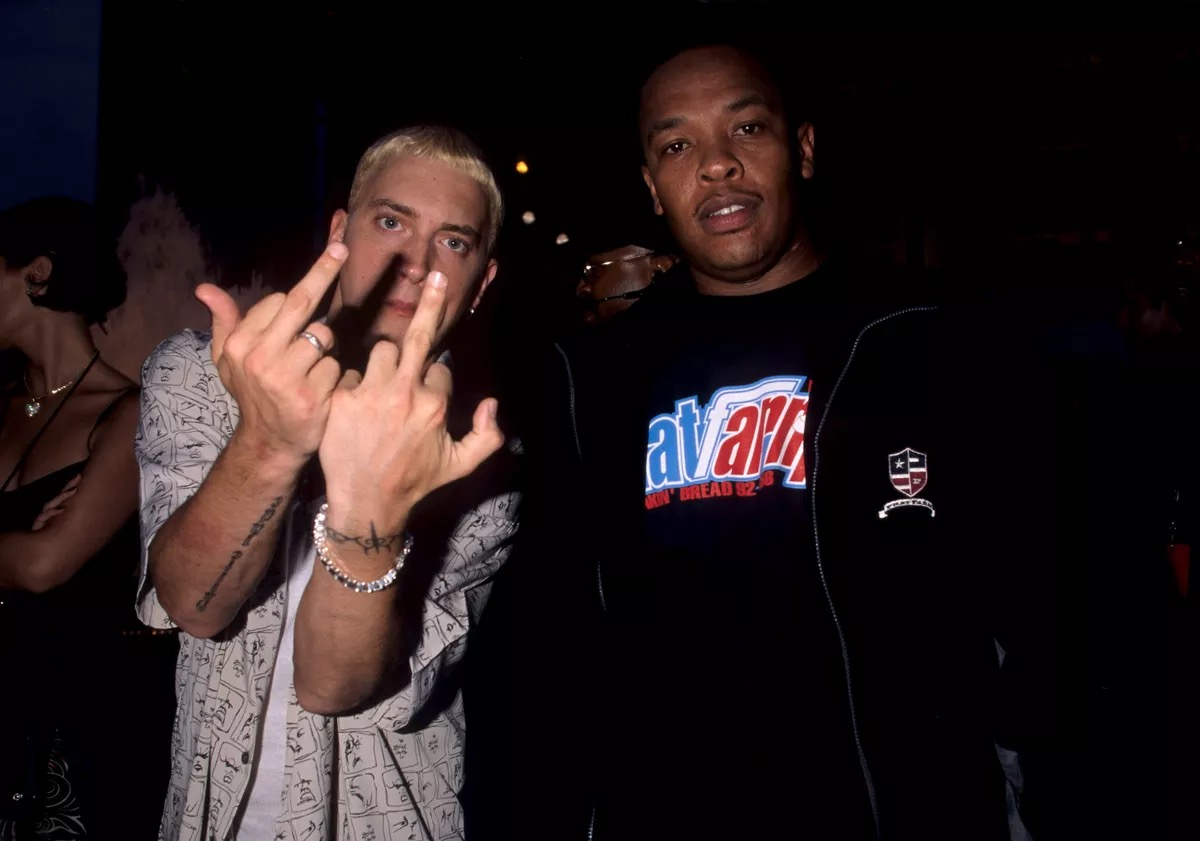 Replying to @Eminem: U know it's Dre Day!  Happy bday Doc. I ain't gotta say more you know what it is!