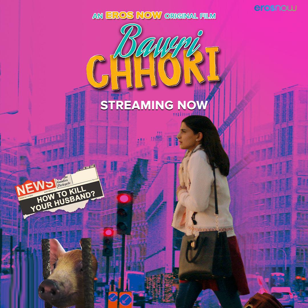 The wait is over, #BawriChhori is here! Join Radhika on her journey to seek revenge from her husband.  Streaming now on #ErosNow -   @AahanaKumra #RumanaMolla @mohitchhabra29 @AjayGRai @vikkochhar @IAmNikiWalia @akhil2jaiswal  #SudiptoSarkar #RachitaKapoor