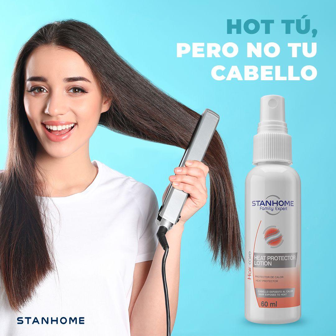 Es cierto, las mujeres somos buenas para planchar... ¡nuestro cabello y lucir hermosas! 💁🏻♀️💕✨  Protégelo del uso de la plancha y de la secadora con Heat Protector Lotion 🆗✅ Rocíalo antes de aplicar calor 🥵  #StanhomeMexico #MerecesLoMejor #FamilyExpert #HairCare https://t.co/QvRzSKblBK