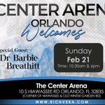 Image for the Tweet beginning: The Center Arena Feb 21,