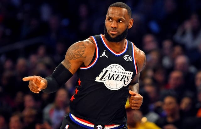 OFFICIAL: LeBron James is an #NBAAllStar captain for the fourth time. #TeamLeBron