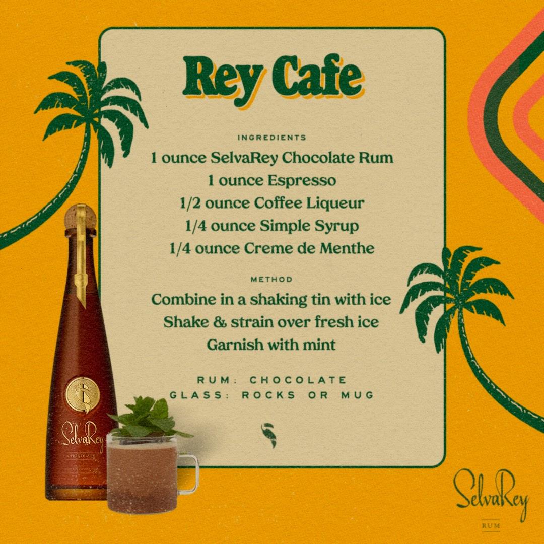 Mint condition.  #SelvaReyRum #TropicalLuxury #ChocolateRum