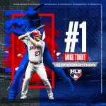 Image for the Tweet beginning: .@MikeTrout is #⃣1⃣ AGAIN 🔥  #Top100RightNow