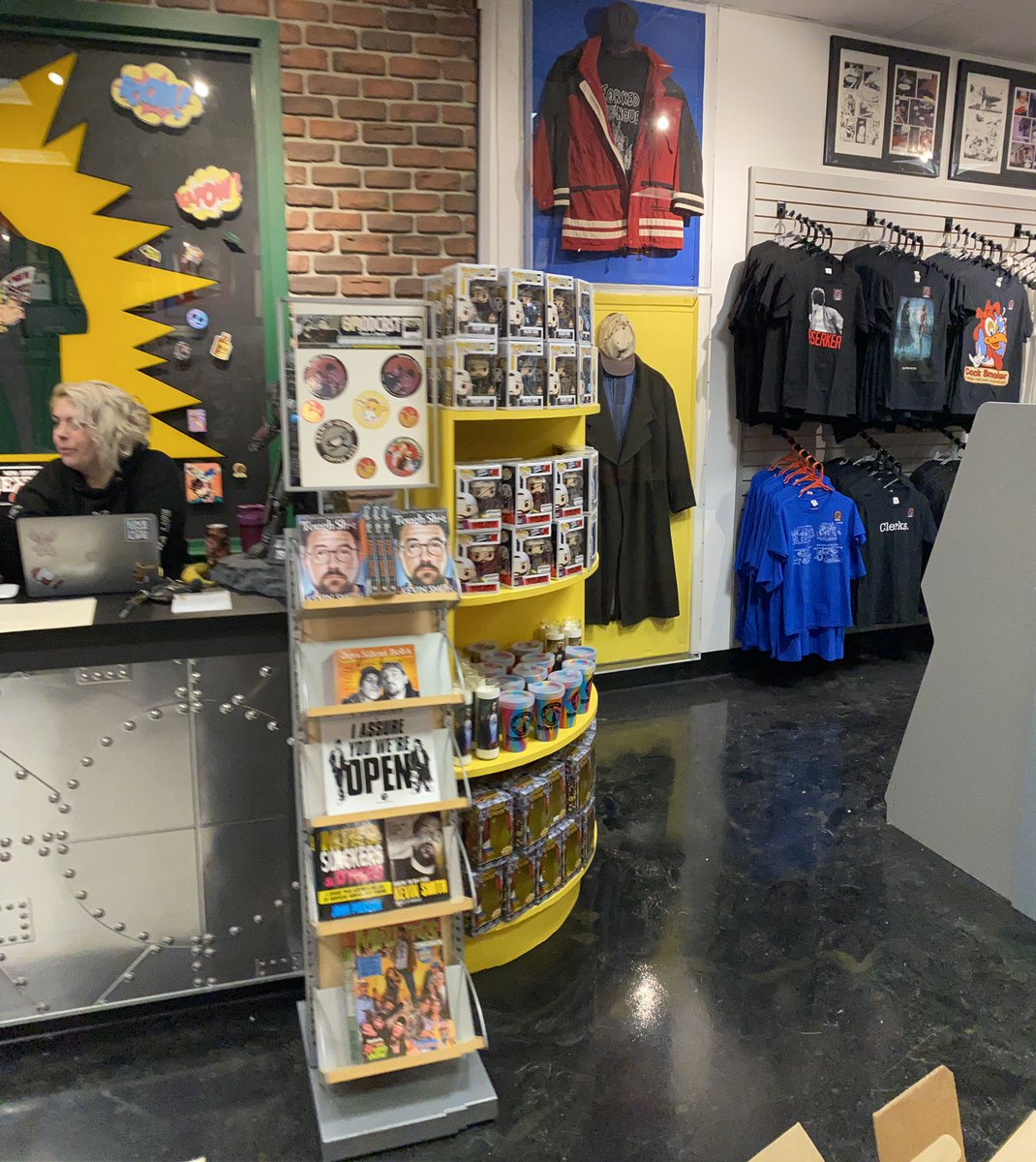 Can't wait for y'all to step into the NEW Jay and Silent Bob's Secret Stash! @OEodonnell7 and the team have been working their asses off to make this place the Greatest shop imaginable! Doors open at 10am on Monday, February 22nd.
