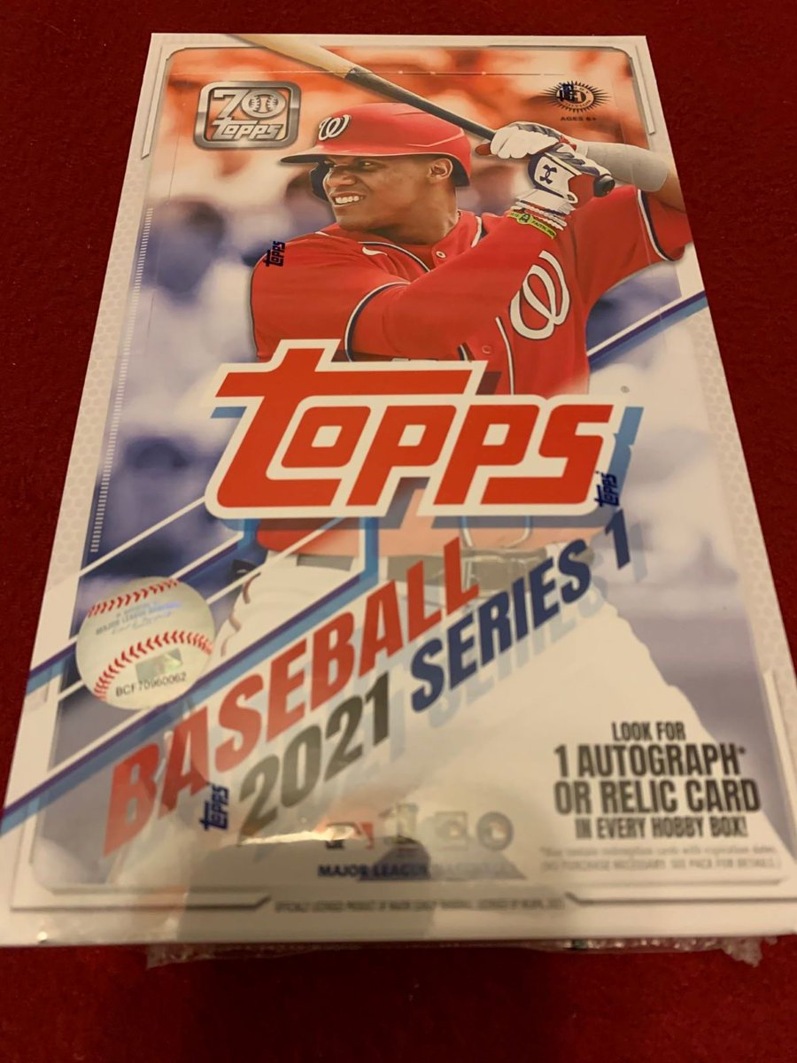 Oh, someone wants a free 2021 Topps Series 1 hobby box? Okay  Just follow @CardPurchaser and retweet this tweet for a chance to win!   Winner drawn randomly Sunday the 21st at 9pm Central