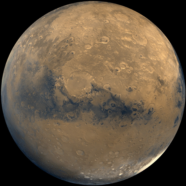 TONIGHT! Look up to see Mars to the right of the crescent Moon, and know our @NASAPersevere rover rests quietly on the Red Planet after the #CountdownToMars and a thrilling landing.🌙