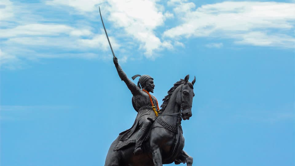 """History tells us that powerful people come from powerful places. History was wrong! Powerful people make places powerful""  Tributes to the great Chhatrapati #ShivajiMaharaj on his Jayanti. Jai Maa Bhavani"