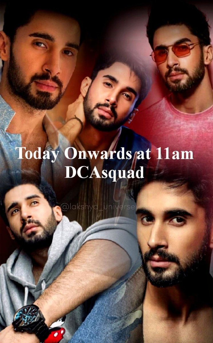 Don't forget Today onwards at 11am @DharmaMovies @DCATalent will introduce 👑King👑 so stay tuned guys 💐💗💐 #itslakshya #lakshya #Iamsolaksh #laksh #dostana2 #DCAsquad #lakshlalwani #porus