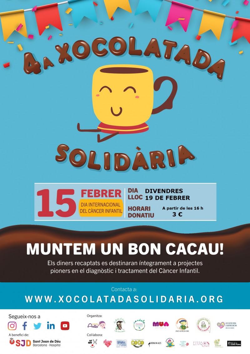 Aquesta tarda MUNTEM UN BON CACAU! #xocolatadasolidaria #diainternacionaldelcancerinfantil @SJDbarcelona_ca
