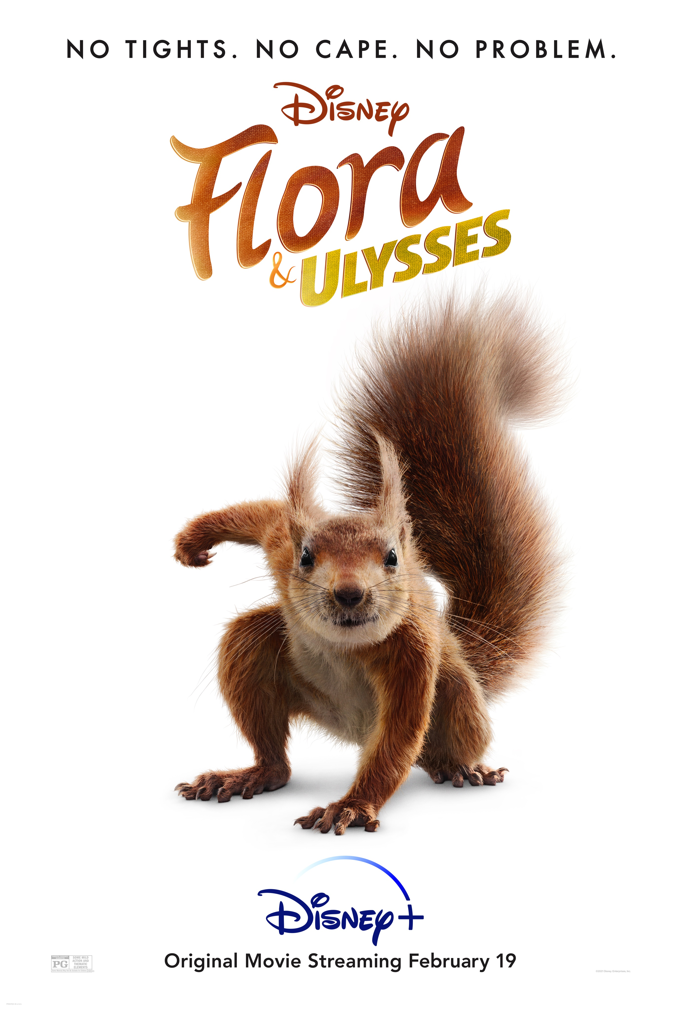 Spoiler-Free Review of Disney+ Flora and Ulysses