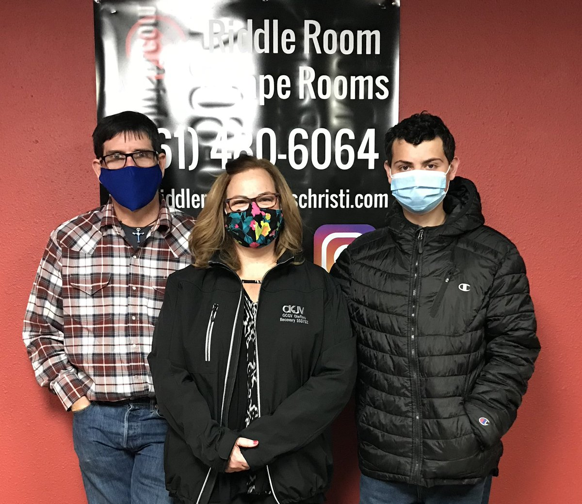 Congrats to this group for solving The Mystery of The Hidden Cellar and beating the clock. ##riddleroomrevolution #bookitnow #takethechallenge #escapeartists