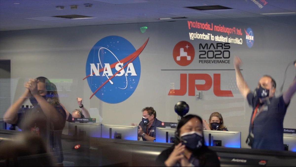 Got a minute? Relieve the nail-biting action of @NASAPerseveres Mars landing. #CountdownToMars