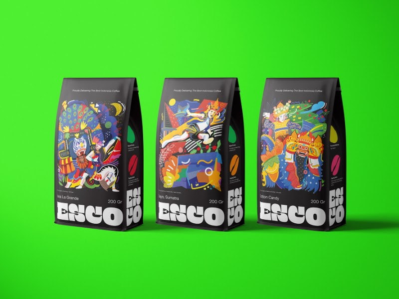 Stunning flexible packaging design!  Discover the capabilities of Memjet digital inkjet technology and how it can enhance your packaging: https://t.co/tI7g8xodfv  #printing #inkjet #coffee #packaging