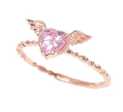 angel & devil rings