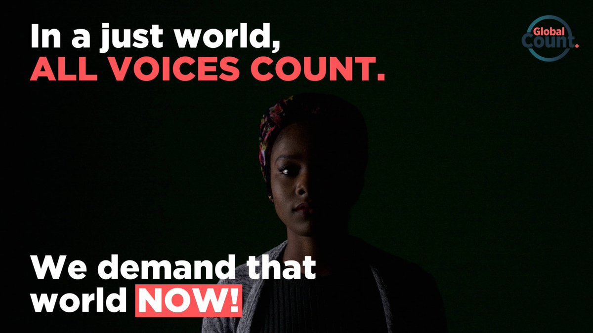 The 1995 World Summit for Social Development pledged to put people at the centre of development plans. BUT, we are still far from ensuring ALL voices are heard and counted. We demand change – NOW. ✨Take the short poll🔻#WeCount #WorldSocialJusticeDay http://becounted.globalcount.org