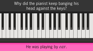 Silly music pun #FridayFun for #Musicians #Musos #MusicTeachers #MusicLovers #Piano https://t.co/VPaOOgDUlH