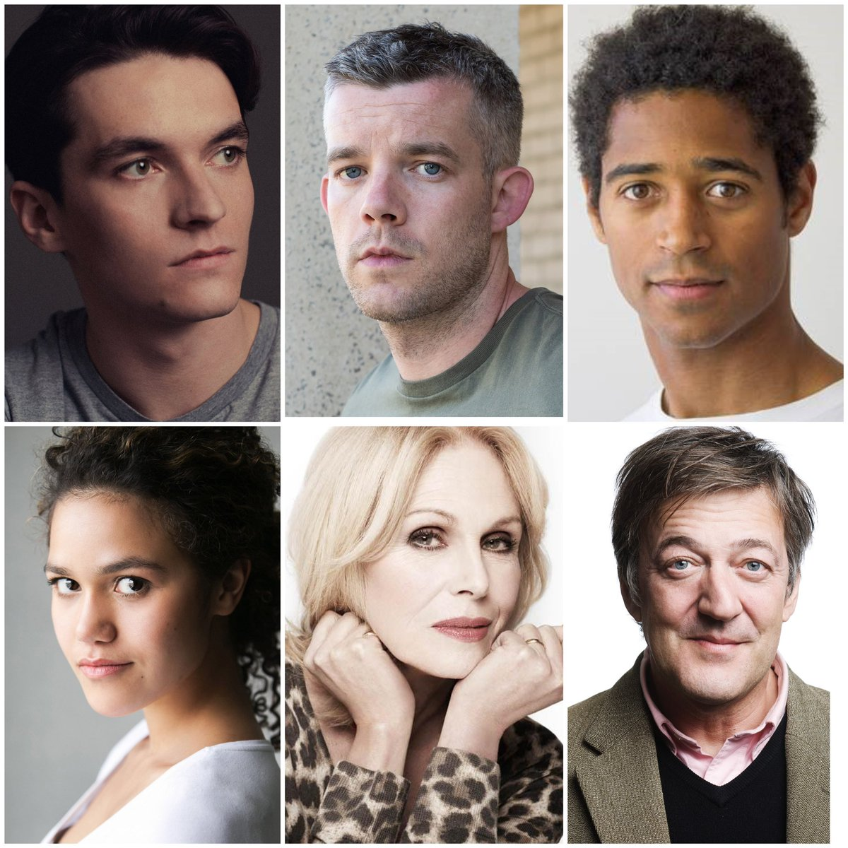So excited! Alfred Enoch, Joanna Lumley, @EmmaKatMcDonald, @RussellTovey and @StephenFry join Fionn Whitehead for 'The Picture of Dorian Gray', dir. @tamaracharvey. Grab your tickets, support theatre - . @BenSaysWords @HollyPigott @demigrooveUK @EleriBJones