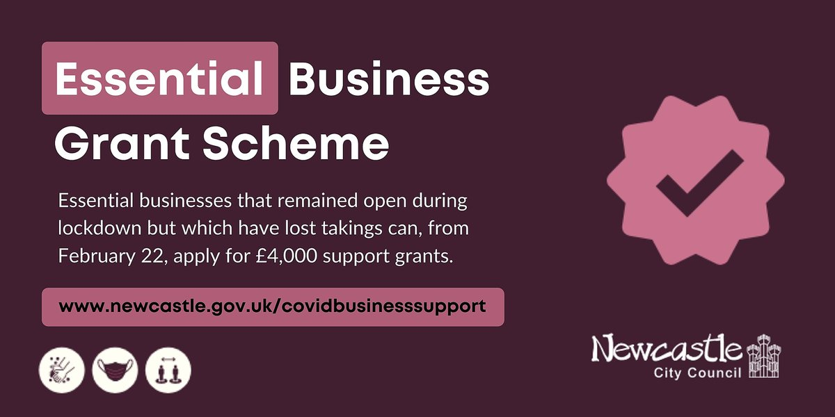Do you run an essential #business? If youve remained open during the pandemic, so havnt previously been eligible for support, then get ready, as from Monday (Feb 22) you could apply for a £4,000 grant. Funding is limited so apply asap. Find out more: orlo.uk/jZbyC