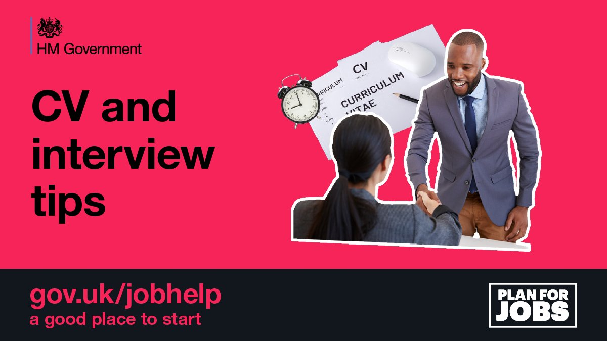 Need to update your CV? Find help and advice from the experts on #JobHelp: ow.ly/maZ250DyE9n #PlanForJobs