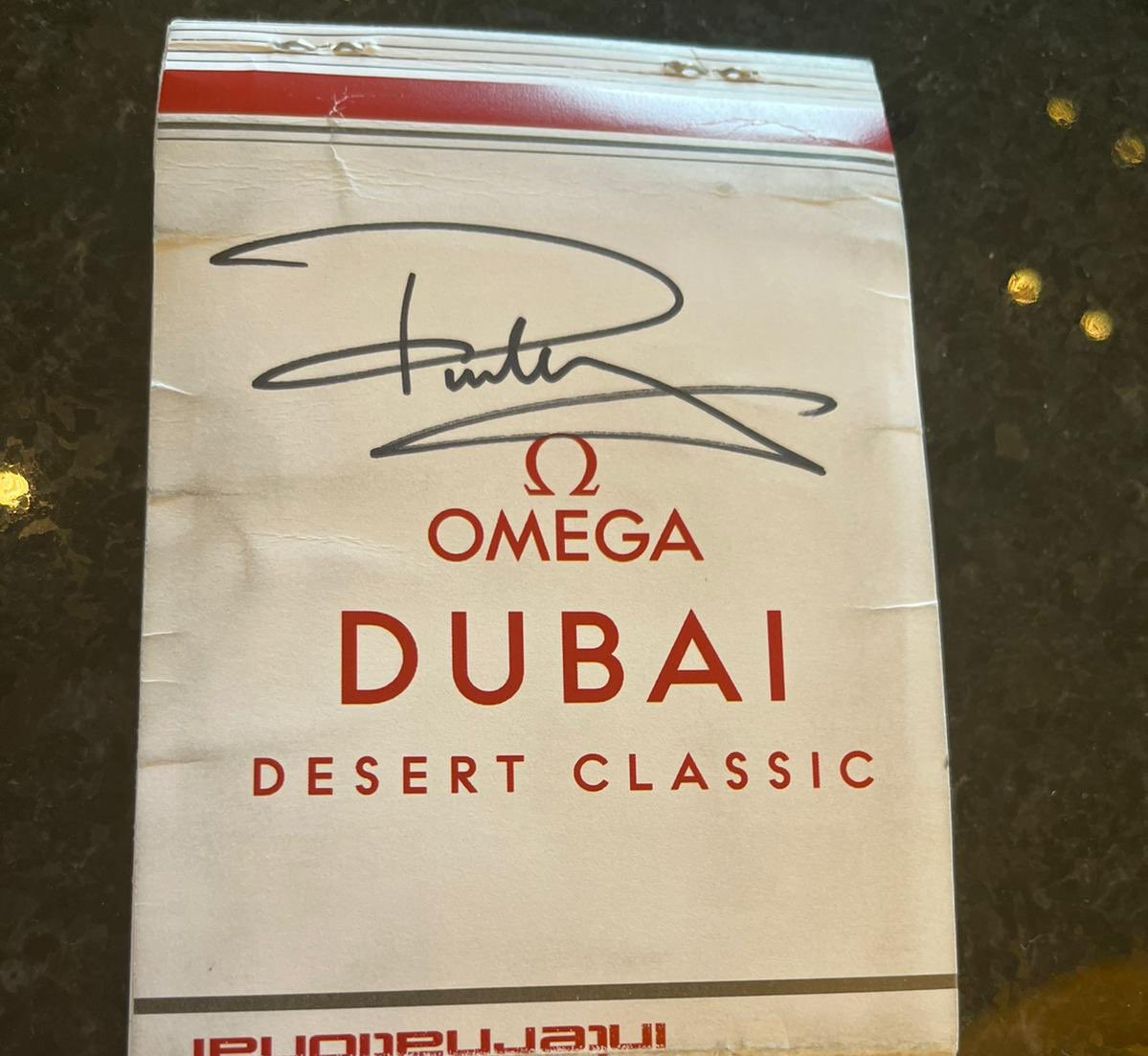 🚨 GIVEAWAY! 🚨  Win @Paul_Casey's signed caddie yardage book from his 2021 #ODDC win at @EmiratesGC with John McLaren.   ❤️ LIKE this tweet ♻️ RETWEET this post 📲 FOLLOW us @caddie_world   Winner announced 26/2/2021!