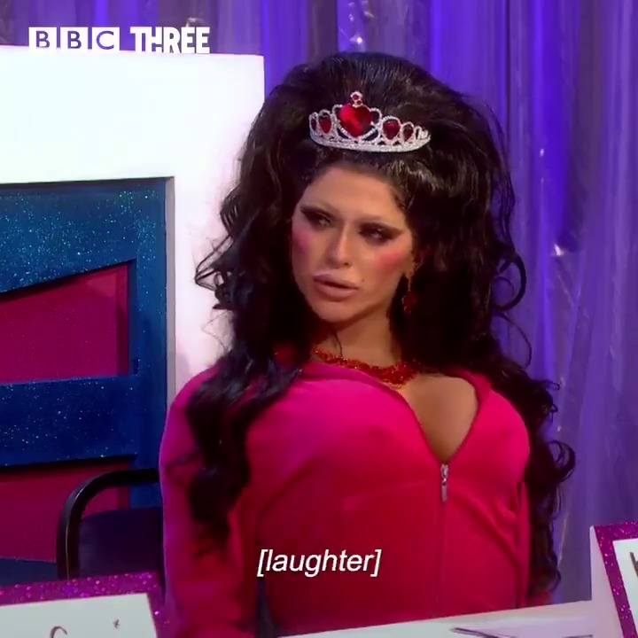 .@Biminibabes does Katie Price better than Katie Price does Katie Price. #DragRaceUK