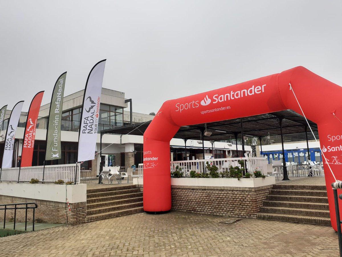 🎾 Todo está listo para el comienzo mañana en Río Grande del Rafa Nadal Tour by Santander. ¡Vamos! 💪  ➡️  ☑️  #RafaNadalTourbySantander #RNTSevilla #RNT21 #fundacionrafanadal @frnadal #SomosRíoGrande #EspírituDeportivo