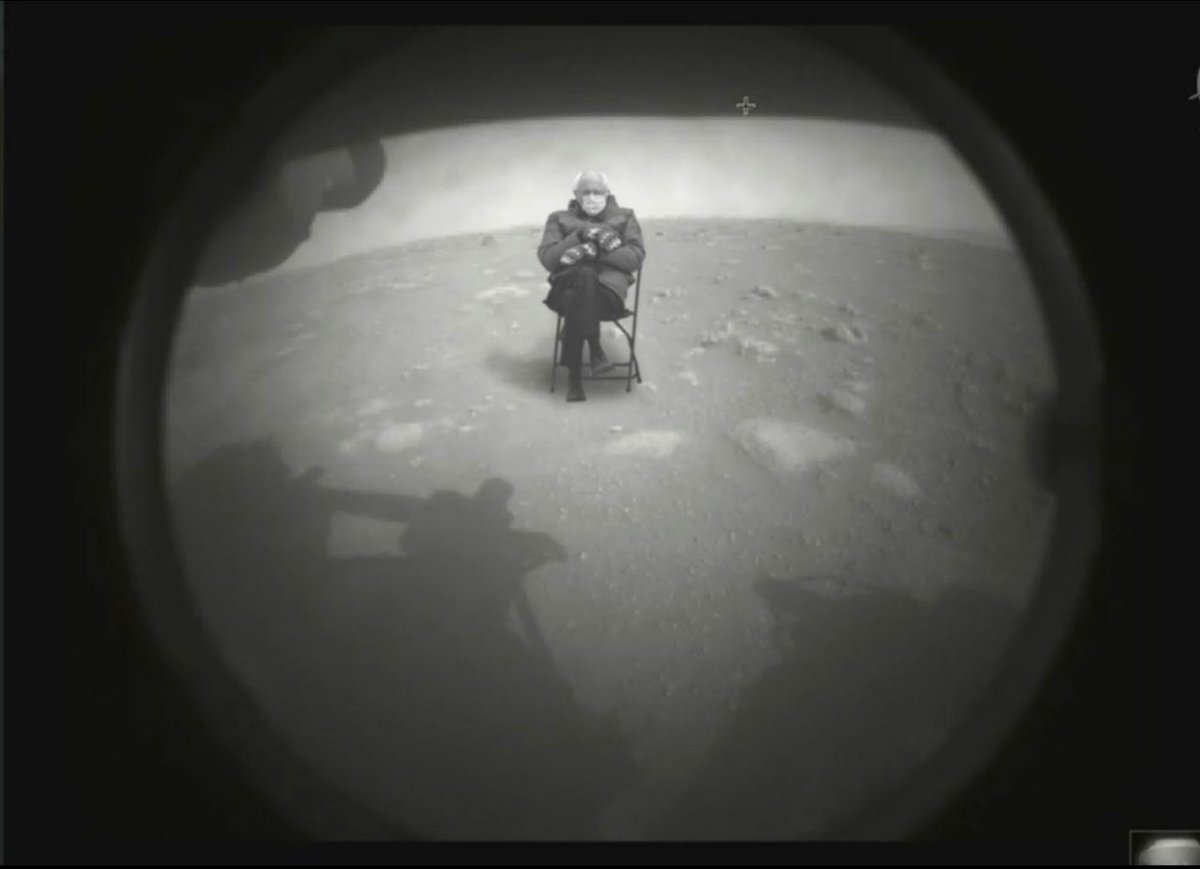 Replying to @InfoSecHotSpot: The Mars rover has already found evidence of life.