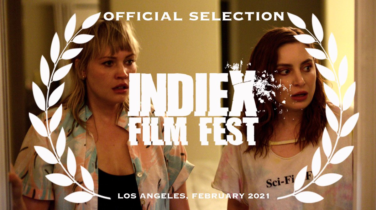 baby's first laurels  thank you @IndieXFest!! she's so close to being done!!! go follow @/palmswingsfilm on IG if you haven't already please ❤️