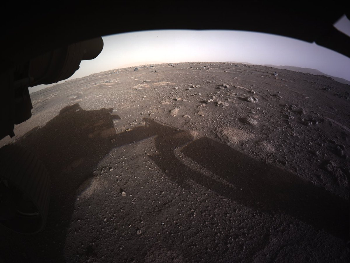 An open horizon, with so much to explore. Can't wait to get going. #CountdownToMars