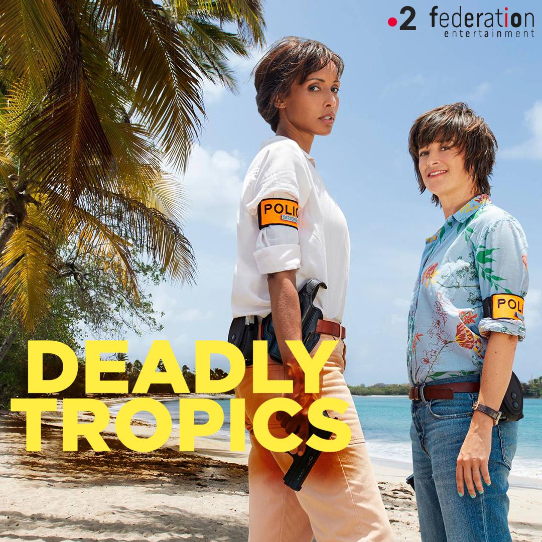 test Twitter Media - Envie de retrouver le soleil et votre duo préféré ? ☀️  Votre nouveau rendez-vous du vendredi soir : Tropiques Criminels est de retour avec une nouvelle saison inédite, à 21h05 sur @France 2 ! https://t.co/I6VDeiqQzu