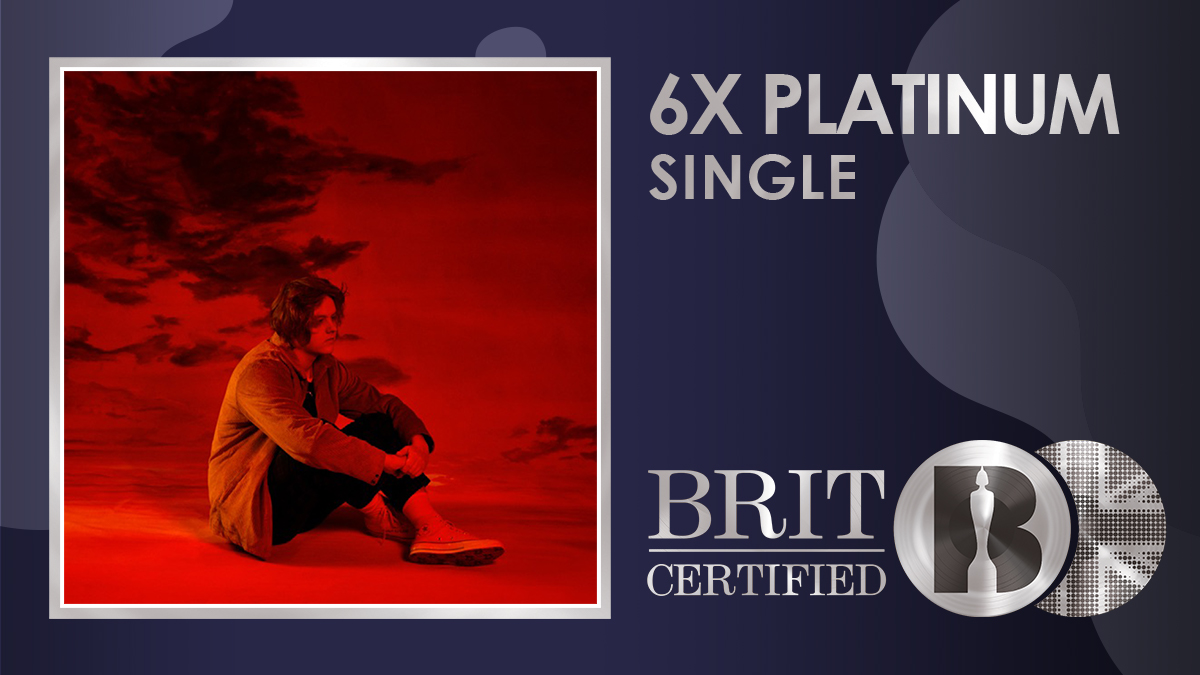 💕 @LewisCapaldi's huge single 'Someone You Loved' has gone #BRITcertified 6x Platinum! 💿💿💿💿💿💿
