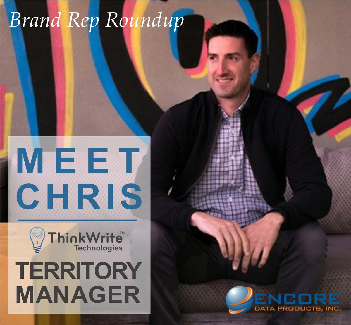 Meet Chris, Territory Manager for ThinkWrite since 2019. Chris enjoys spending time with his two sons, visiting national parks, & exploring the outdoors. He respects the quality, durability & experience put into TW products. Visit https://t.co/8tbqGBV6xr https://t.co/TyUMC8f5k8