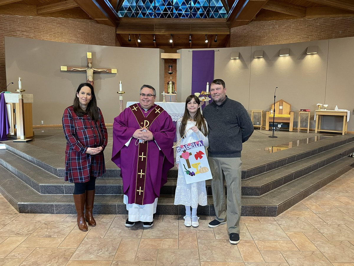 Congratulations, Isabella! Blessings to you on your First Holy Communion!