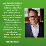 Image for the Tweet beginning: Wir Europäer müssen diese Gelegenheit