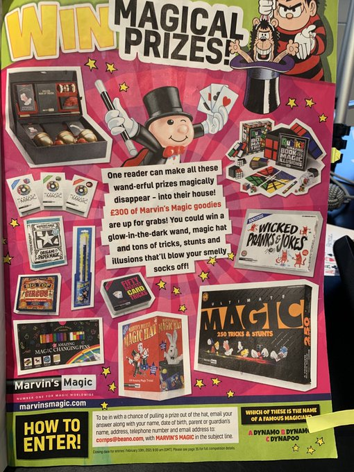Marvins Magic Fifty Amazing Pub Tricks in a Tin case