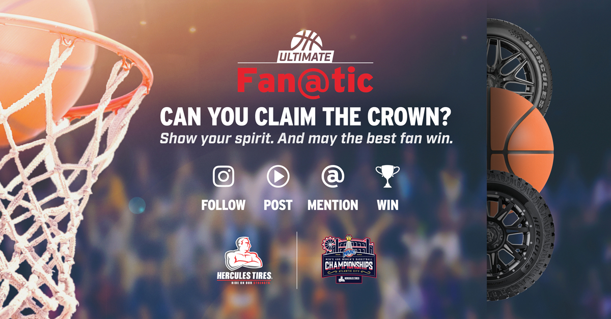Calling all #MAACHoops fans! 🚨 Our friends at @HerculesTires are looking for the one whose school spirit reigns supreme 🎊 Prizes include tickets, a swag pack and more! Details on how to enter below 🙌 ⬇⬇⬇⬇⬇⬇⬇ herculestire.com/ultimatefanatic