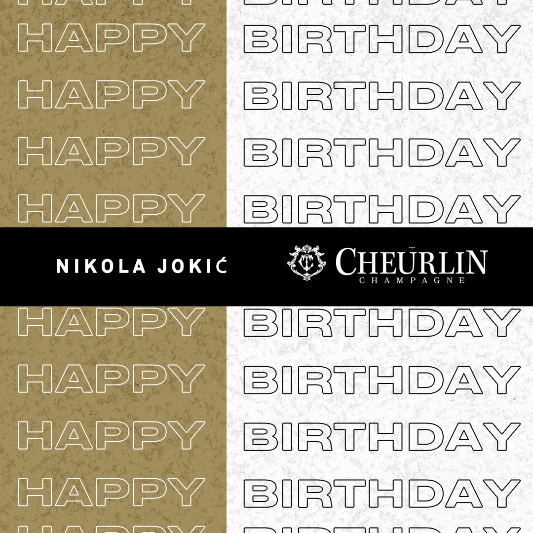 Happy Birthday #NikolaJokic from your NBPA and  @Cheurlin1788 family.  #Cheurlin1788 #Cheurlinmoments https://t.co/X6ldnKtRxv