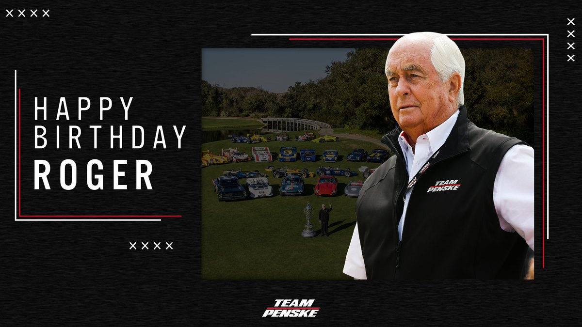 Happy birthday Roger  Looking fwd to some racing this year  #r8g #indycar #us2021