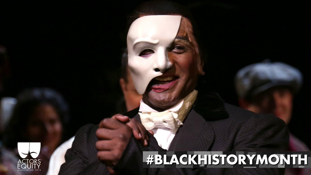 In May of 2014, Norm Lewis became the first Black actor to play the role of the Phantom on Broadway, and the third worldwide. #BlackHistoryMonth
