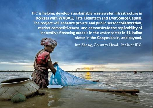 We are working with@vatechwabag, TataCleantech and EverSourceCapital towards a cleaner #Ganga.