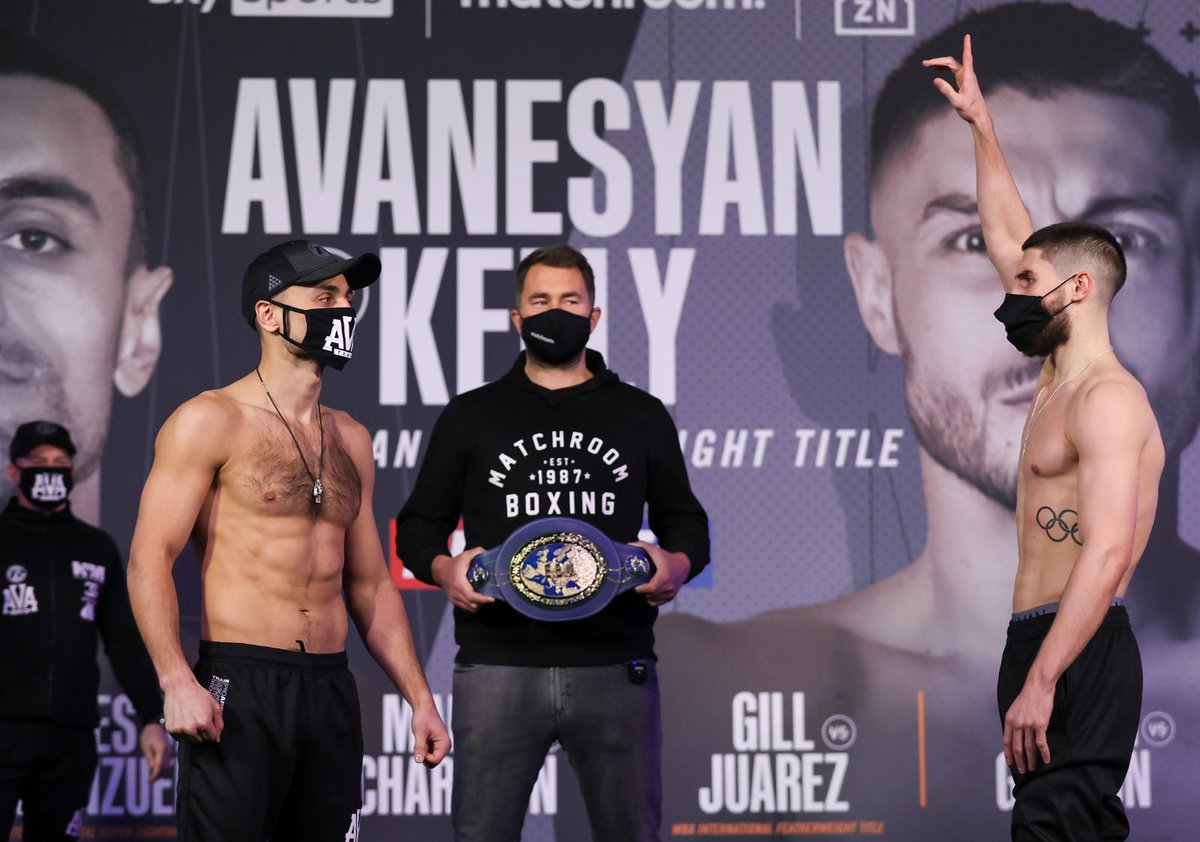 Really excited for this one tomorrow!! #AvanesyanKelly 🇷🇺🇬🇧🔥 @SkySportsBoxing @DAZNBoxing