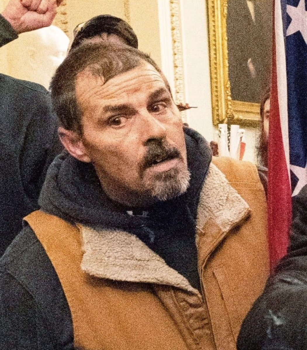 This is Kevin Seefried from Delaware. He is a registered Democrat who posed as a Trump supporter with a confederate flag that entered the Capitol on the 6th! The hijacking plot will be exposed 1 at a time. https://t.co/jkQanmojpV