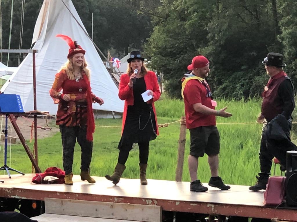 Who knew the old man had swag! Scouter Matt lost Scaramouche's love on the dating game in sub camp Red - but he still extended his hand to the winner Scouter Peter from Malta!   #wednesdaywisdom #scoutsdostuff #scouts #schjrocks #haarlemjamborette #scoutscanada