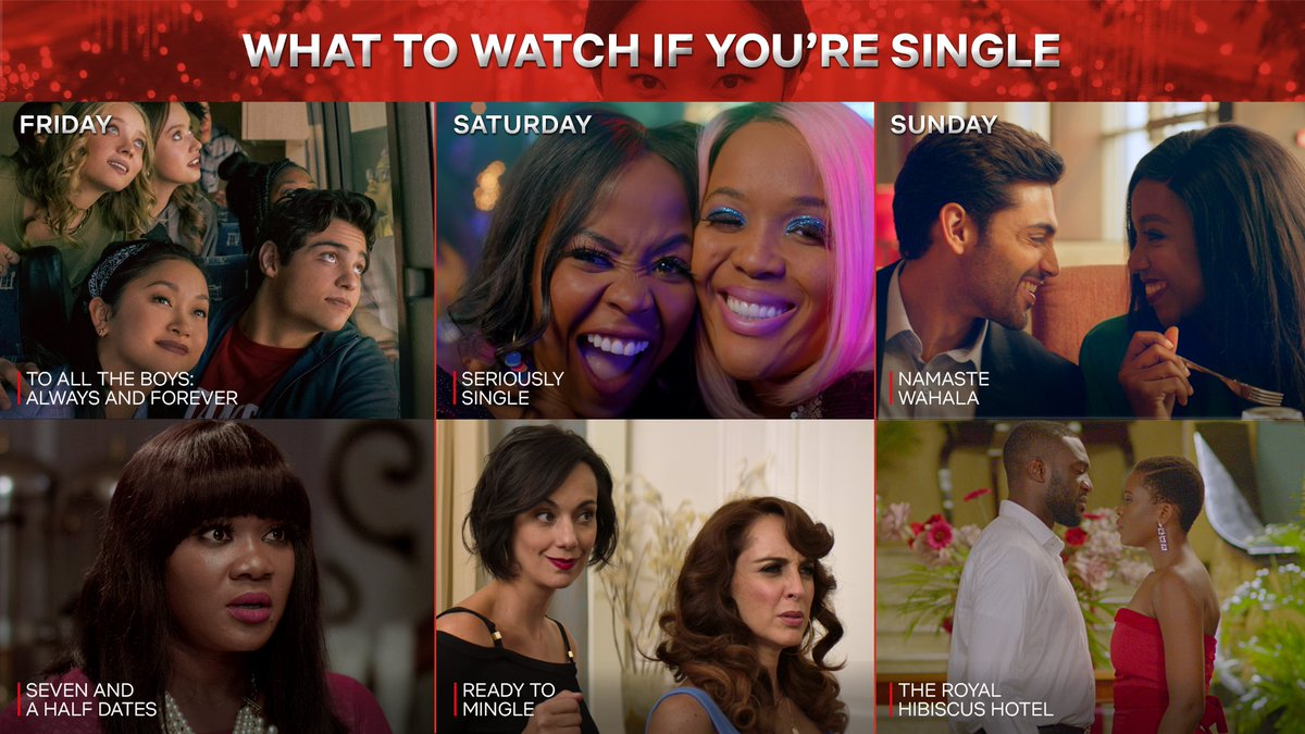 Replying to @NetflixNaija: What to watch if you're single and loving it 💝