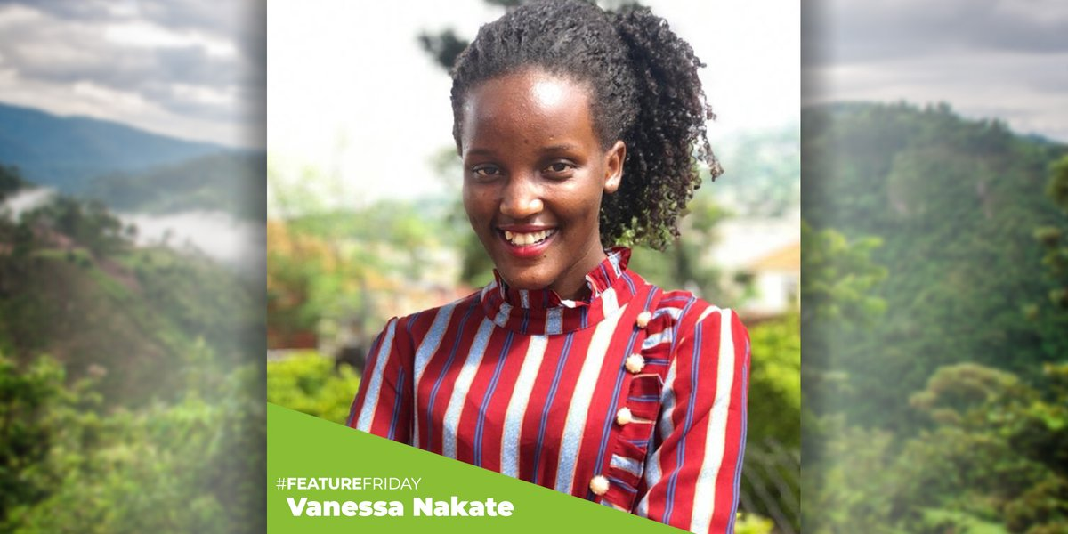 Meet climate change superstar Vanessa Nakate from Uganda, a UN Envoy on Youth and founder of Rise Up!  #FeatureFriday #ClimateChange #WeNeedGorillas #Conservation @TheRiseUpMovem1 @vanessa_vash @1MillionActivi1